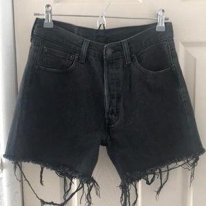 Vintage high waisted Levi's shorts 501